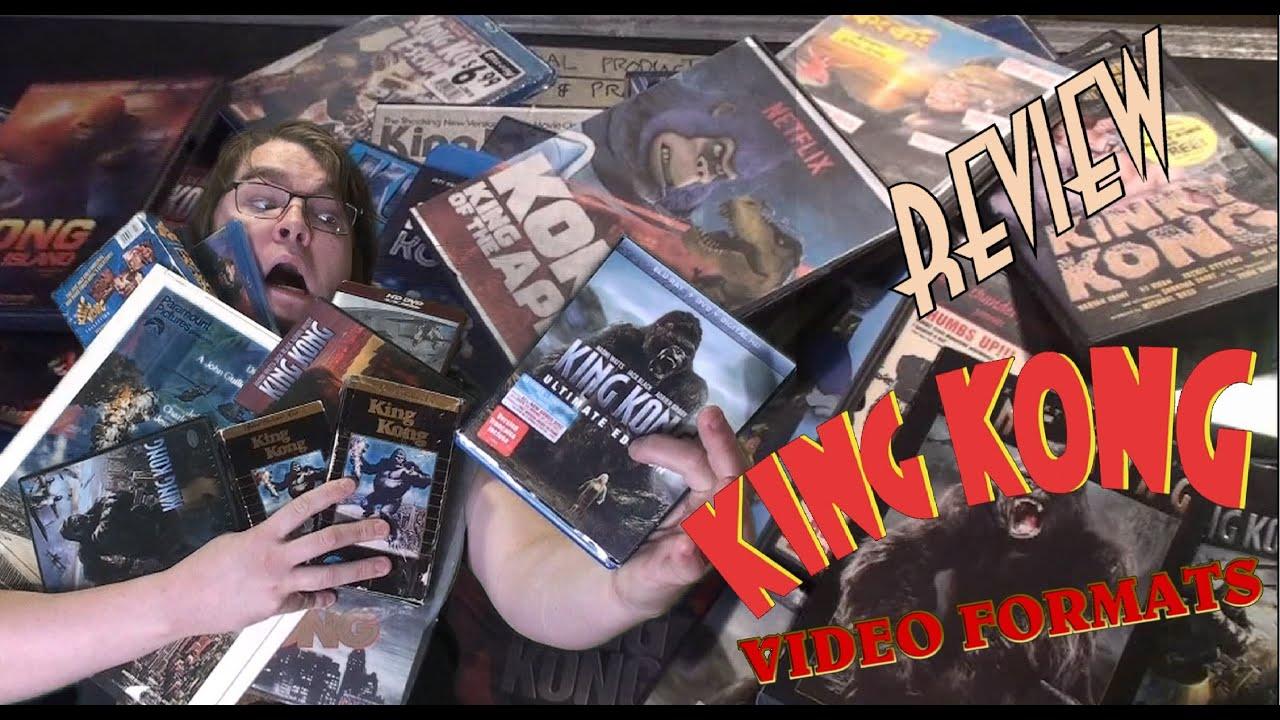 Download 70. King Kong Video Formats (1933 - 2020) KING KONG REVIEWS