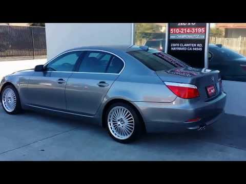 2008 Bmw 528i Used Cars Miami Vehiclemax Net Gray