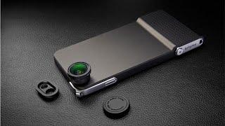 Snap6 - чехол для Iphone 6 с удобной кнопкой затвора и съемными объективами(, 2014-10-14T13:07:05.000Z)
