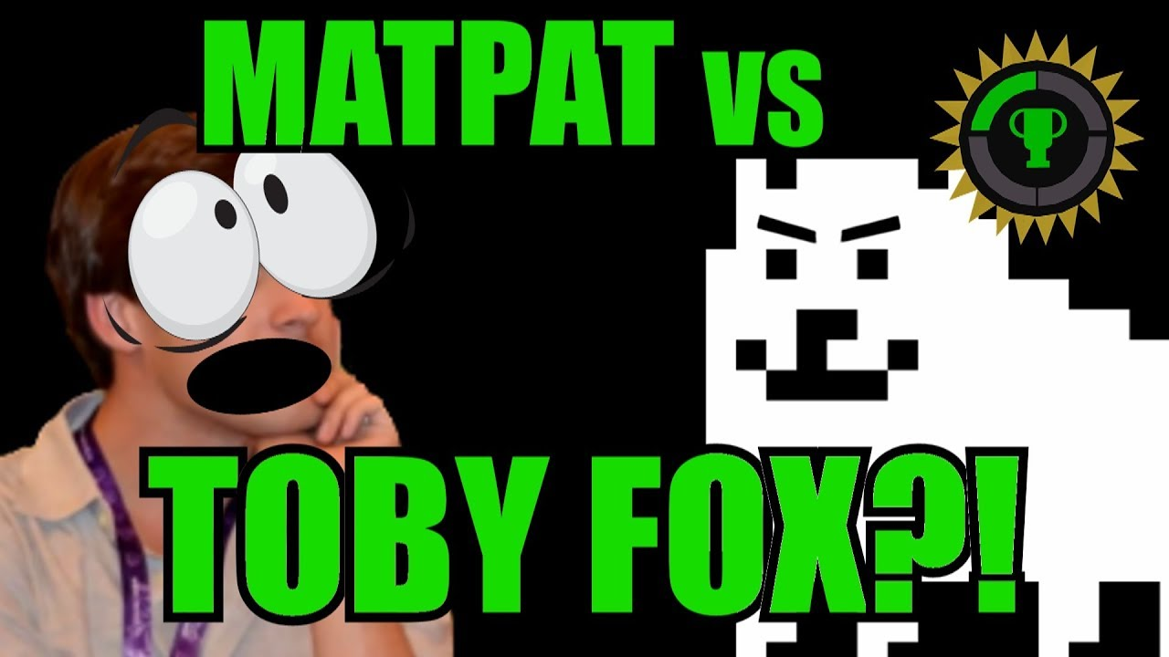 Game Theory Toby Fox Destroys Matpat Twitter Youtube As the name suggests, the food theorists, using the. game theory toby fox destroys matpat twitter