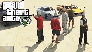 GTA 5 Online Secret Dunce Cap and the Bad Sport Lobby