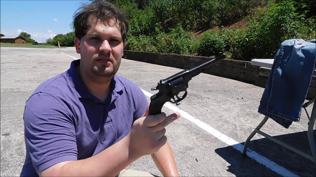 M1895 Nagant Revolver 7 62x38R vs Ballistic Gel