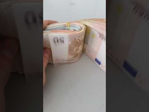 Counting Money #EURO