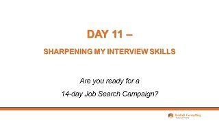 Day 11 - Sharpening My Interview Skills