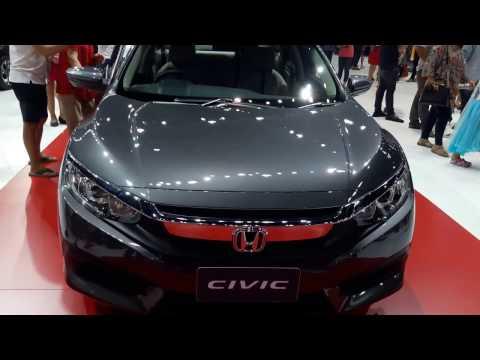 Honda civic 2017 1.8 E  ภายนอก ภายใน