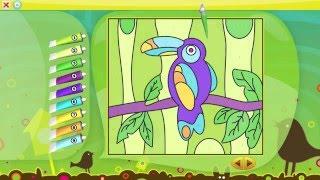 Color by Numbers - Animals   Раскраска животных для детей