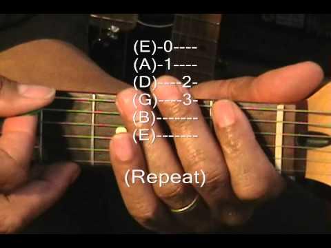 Habits Of Jimi Hendrix On Guitar #1 Purple Haze Intro Guitar Lesson EricBlackmonMusic