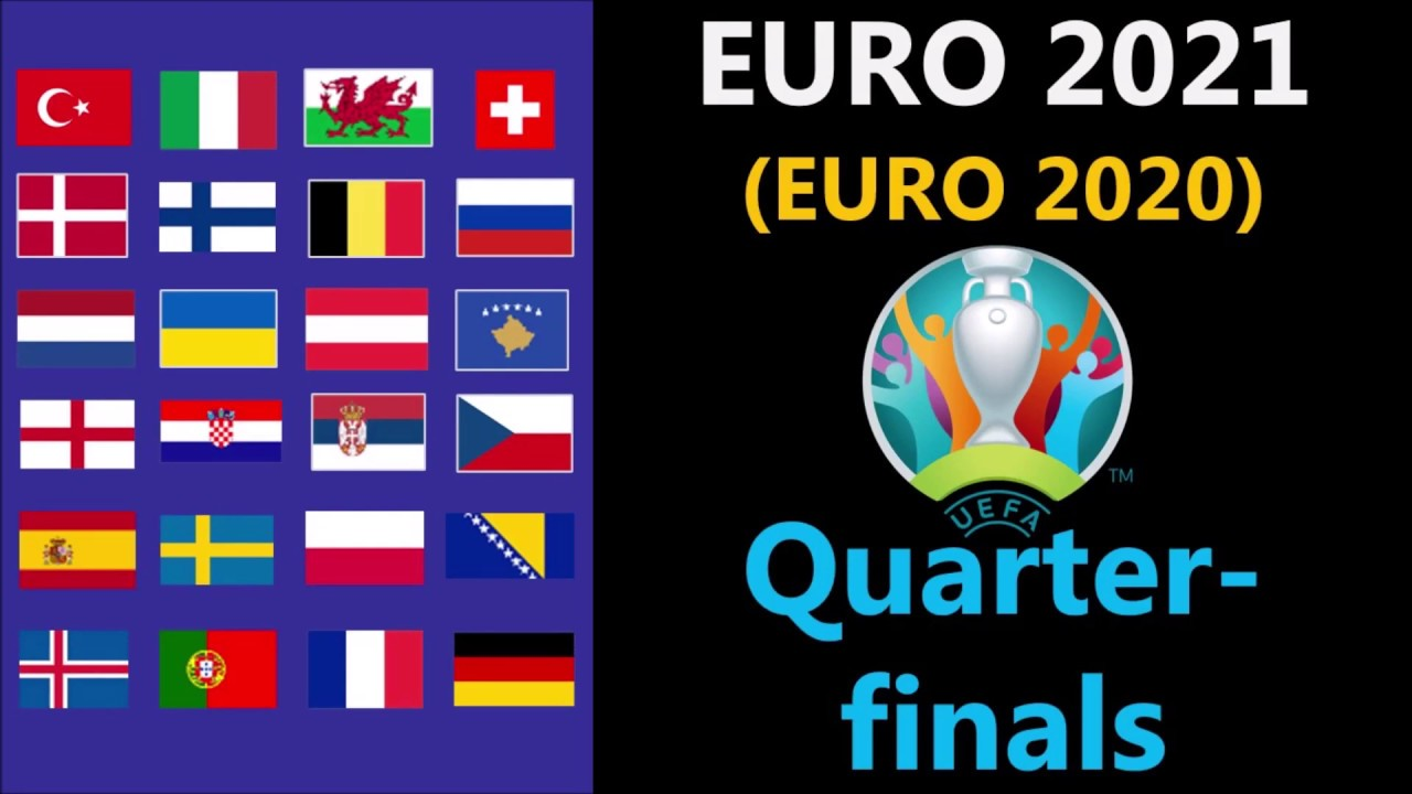 UEFA Euro 2021 (Euro 2020) - Quarter-finals predictions ...