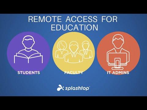 Splashtop-教育机构的首选远程访问解决方案