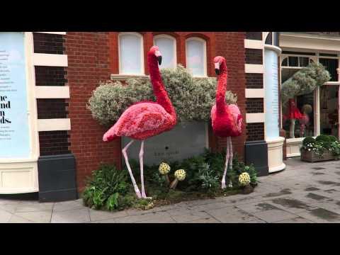 London's Chelsea In Bloom + Smythson + Workshop Coffee Vlog