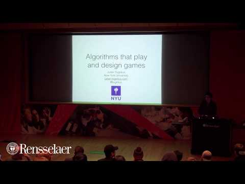 Julian Togelius : Algorithms that Play and Design Games