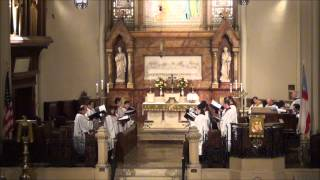 Psalm 67 - Anglican Chant (S. Wesley) @ St. John's, Detroit