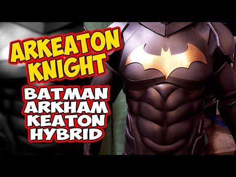Batman ArKeaton Knight Arkham Keaton hybrid