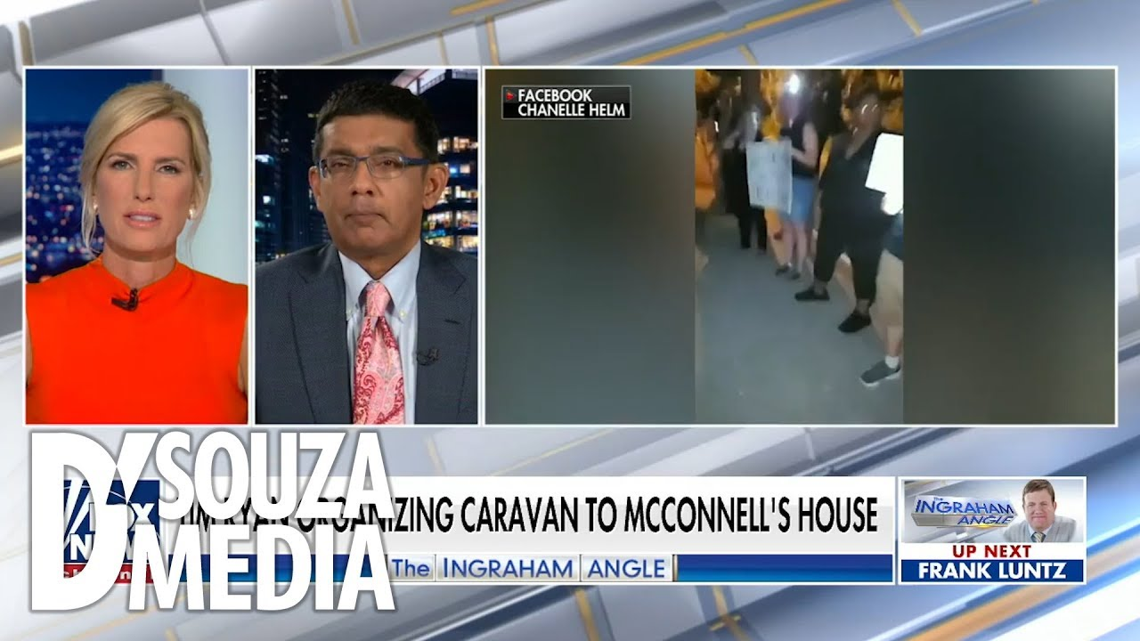 Dinesh D'Souza SO MUCH #WINNING: The Left is scared to get into the ring with Trump