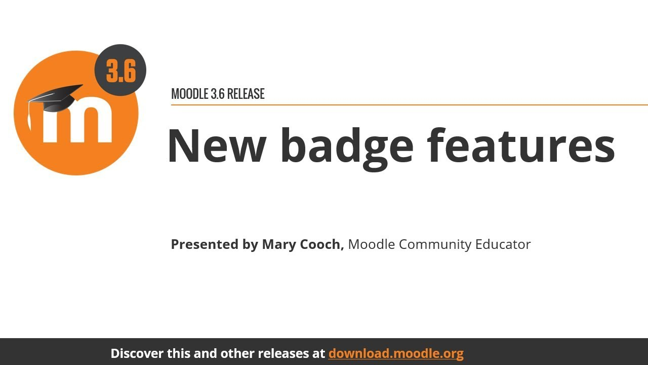 New badge features