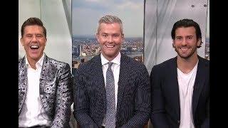 A Million Dollar Visit From Ryan, Fredrik and Steve   New York Live TV