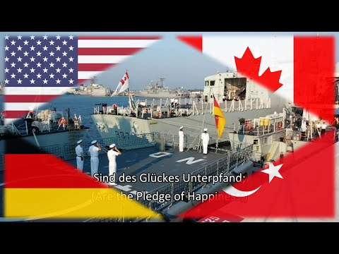 Canadian, German & Turkish Ships in Florida - Morning Colors [EN/FR/DE/TR]