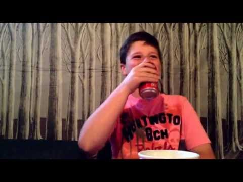 FOOD CHALLENGE: eating a chili pepper while drinking Coke