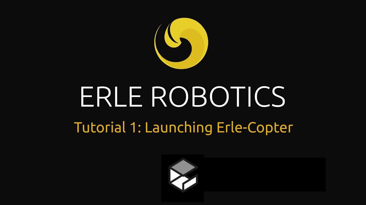 Launching Erle-Copter simulation | Erle Robotics Docs