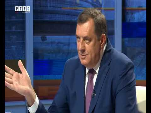 """TV emisija """"Lazanski direktno"""" - Gost: Predsjednik Republike Srpske Milorad Dodik"""