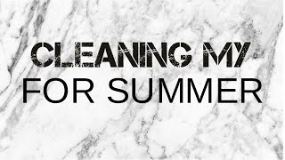 Cleaning My Room for Summer!! Thumbnail