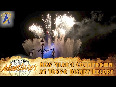 Attractions Adventures - 'New Year's Countdown at Tokyo Disney Resort' - May 12, 2017
