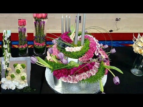 QATAR Grand Floral Demonstration New product launch & Demo | New Flower & Plants | Yummy Foods