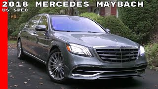 2018 Mercedes Maybach S560 US Spec Interior & Test Drive