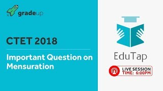 Important Questions on Mensuration by EduTap @ 06:00 PM