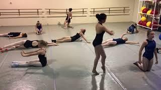 @millballetschool Contemporary Improv Class