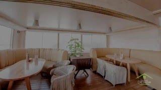 Отзыв о натяжных потолках. Сатиновые натяжные потолки в ресторане