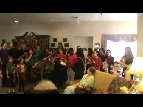 Stedfast Christian Academy caroling 2013 - part 4