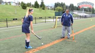 tackling drills techniques strategies for field hockey