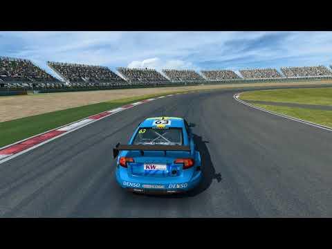 R3E - Shanghai Circuit Intermediate (WTCC) - Volvo S60 Polestar TC1 - Wing Cam