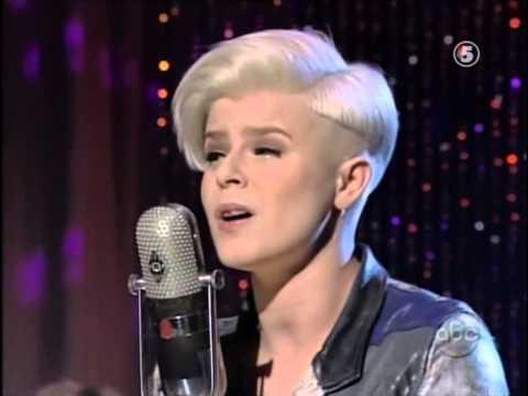 Robyn Be Mine Live on U.S. TV 2009
