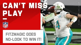 CRAZY Ending to Dolphins vs. Raiders, Sprinkled w/ FitzMagic Dust