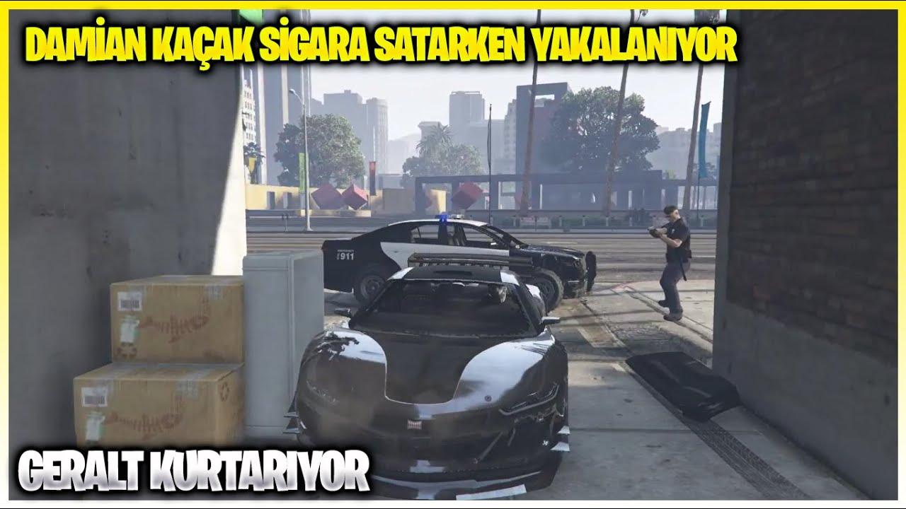 Damian Kaçak Sigara Satarken Polislerden Kaçıyor   EightbornV