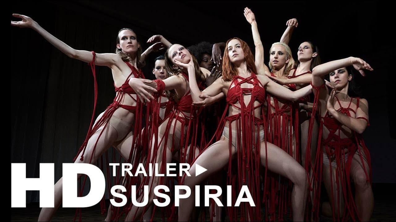 SUSPIRIA - i biografen nu. På DVD, Blu-ray og digitalt d. 4/4-2019