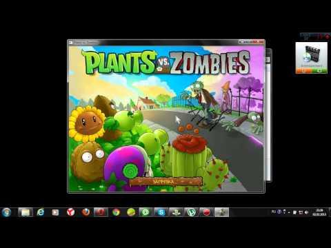 Растения против Зомби установка игры