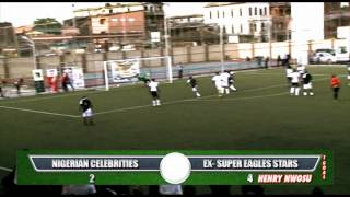 Super Eagles Ex  Stars Vs Ay Okey Bakassi Ali baba Aki  Paw-paw And Other celebrities