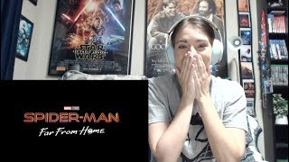 spider man far from home trailer reaction mashup