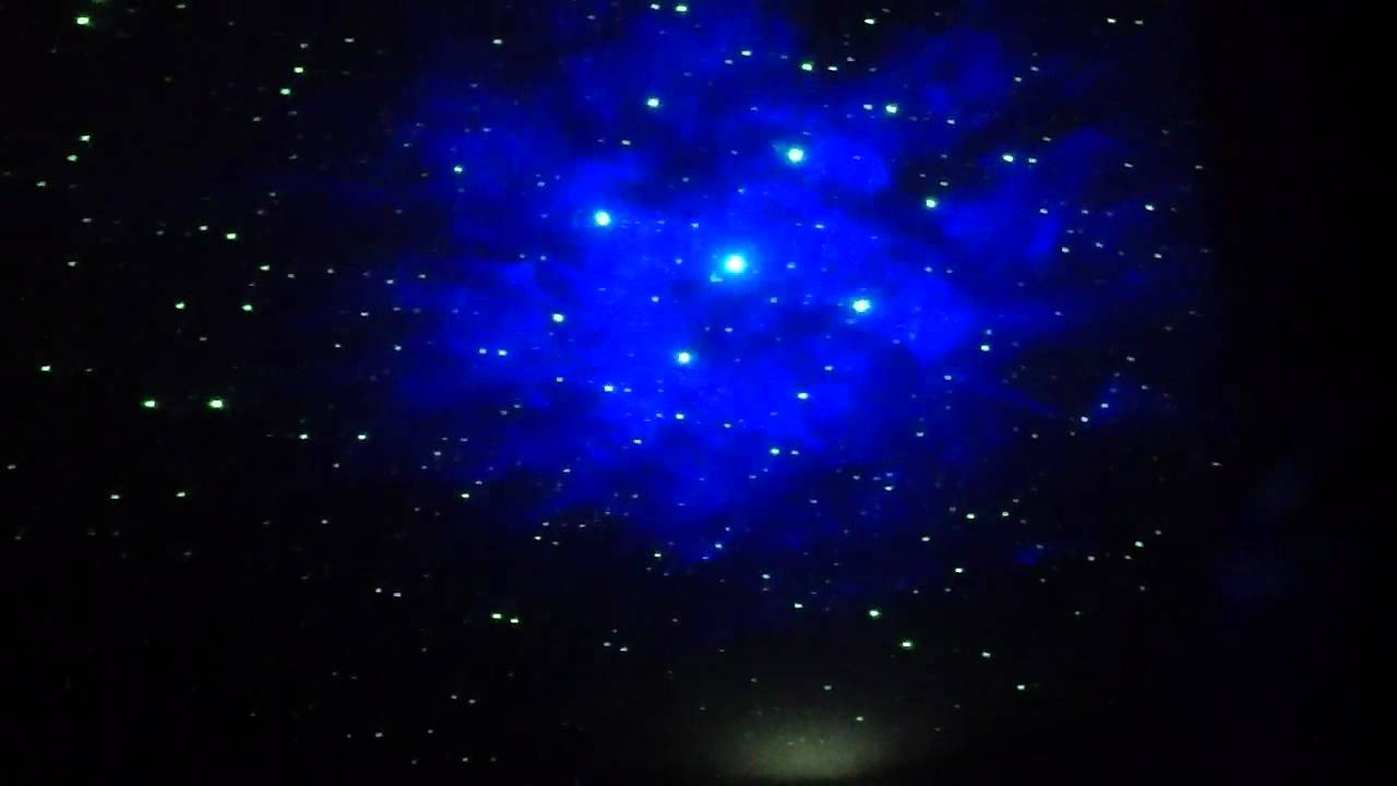 Test Run of Moon in my Room + Galaxy Star Projector Combo ...