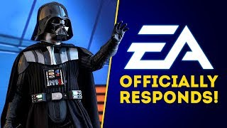 EA RESPONDS About Open World Star Wars Game & New Star Wars Games!