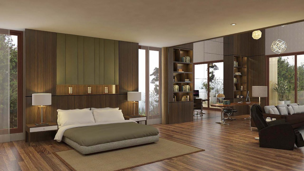 Sketchup bedroom interior build vray render youtube - Painting exterior render model ...