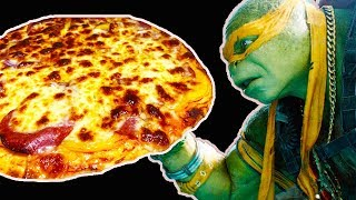 Любимая пицца Черепашек Ниндзя. Как приготовить пиццу дома.Пицца как в пиццерии
