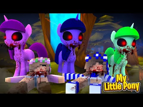 .EXE MY LITTLE PONIES TAKE OVER THE CASTLE! w/Little Carly (Minecraft Roleplay).