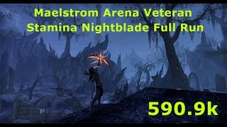 Stamina Nightblade / FULL RUN 590.9k / Maelstrom Arena Veteran