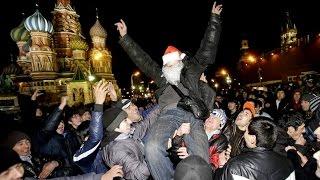 видео Красная площадь Новый год 2017