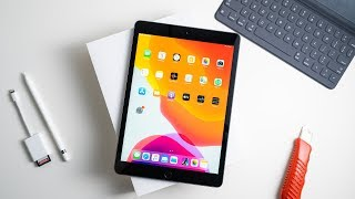 Apple iPad 10.2 (2019) Unboxing & Hands On