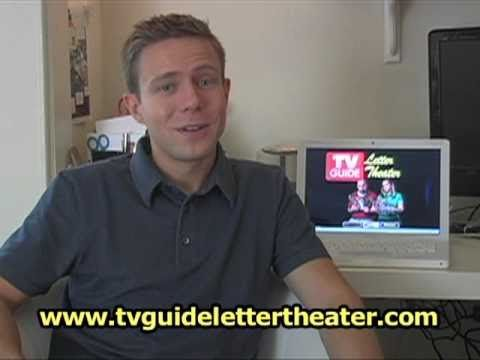 TV Guide Letter Theater  Commercial